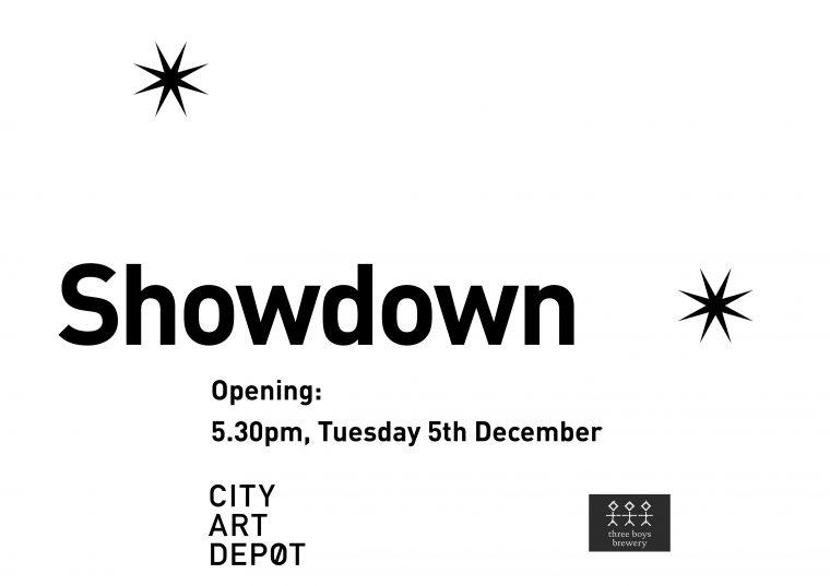Invitation exhibition artwork