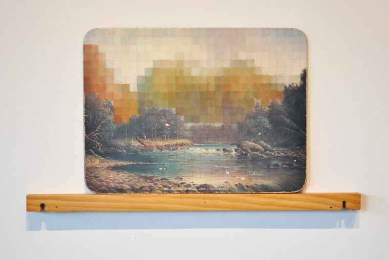 Painted Place Mats – The Greenstone River