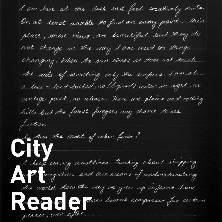City Art Reader 13: studio talk – Charlotte Watson