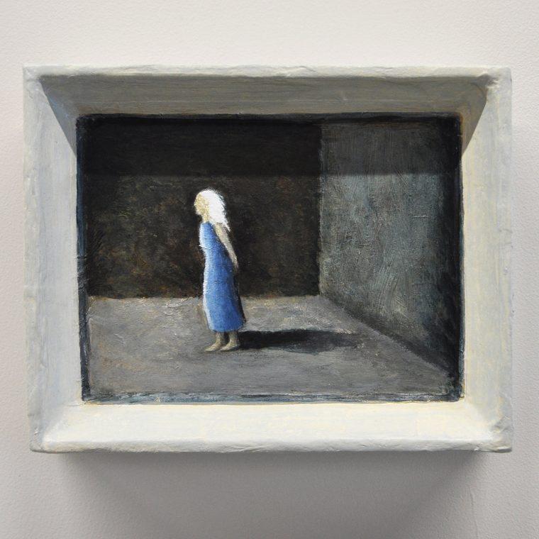 Burying the Poet exhibition artwork