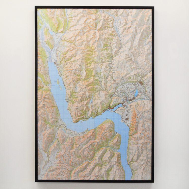 Lake Wakatipu map
